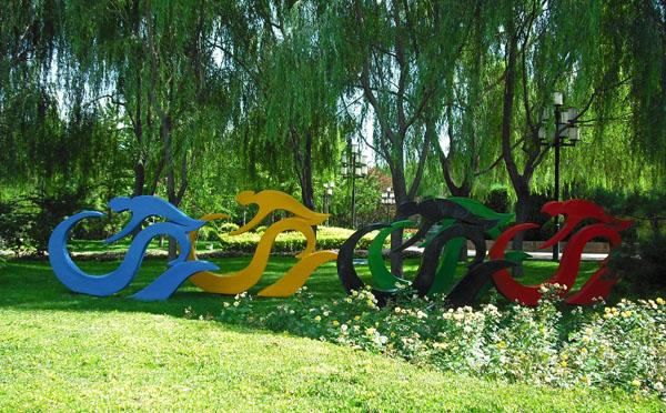 欧式庭院景观小品雕塑图片
