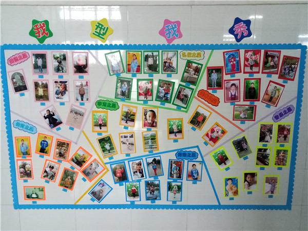 精彩的学生作品,还有丰富多彩的班级活动展示,图文并茂的荣誉栏等,各