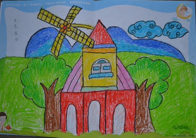 > 书信大赛绘画作品1  第七届少儿书信文化大赛幼儿绘画作品一图片