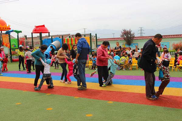 硖石幼儿园:春季运动会